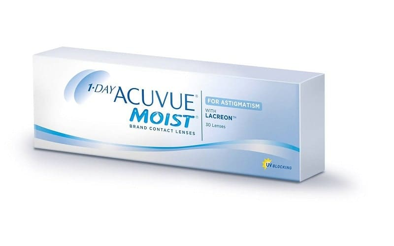 1-Day Acuvue Moist for Astigmatism  30 pk